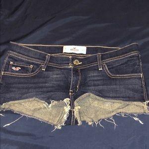 Hollister Jean shorts!